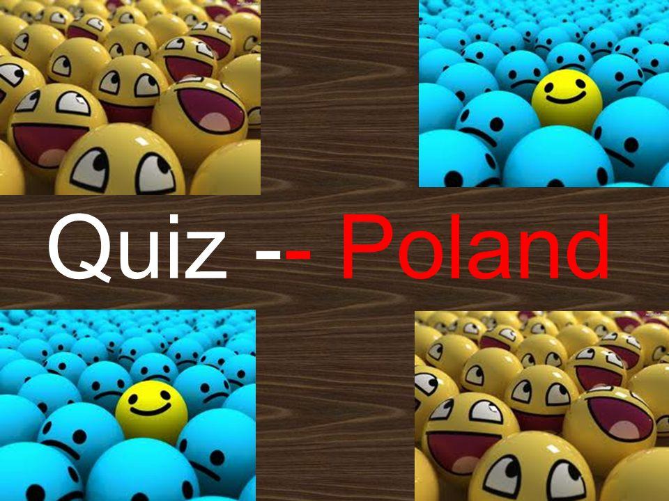 Quiz -- Poland