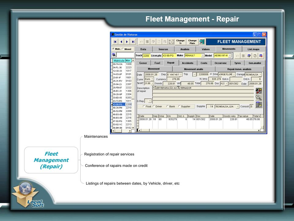 Fleet Management - Repair