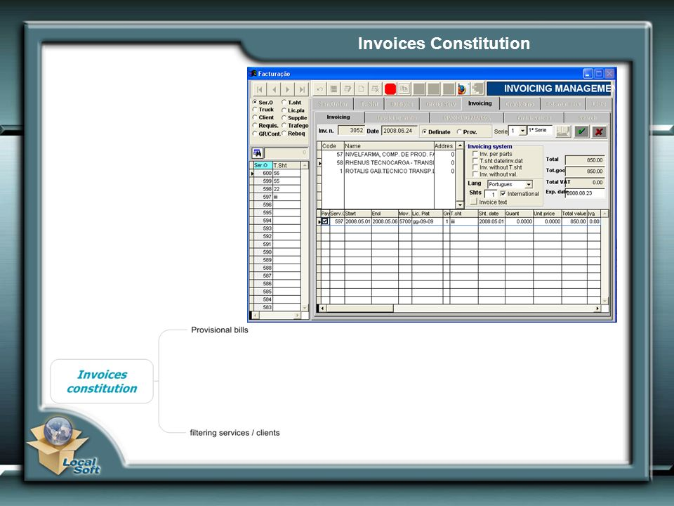 Invoices Constitution