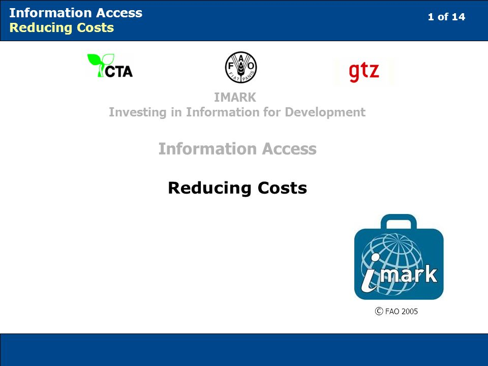 12 of 14 Information Access Reducing Costs Library consortia Are all library consortia all similar.