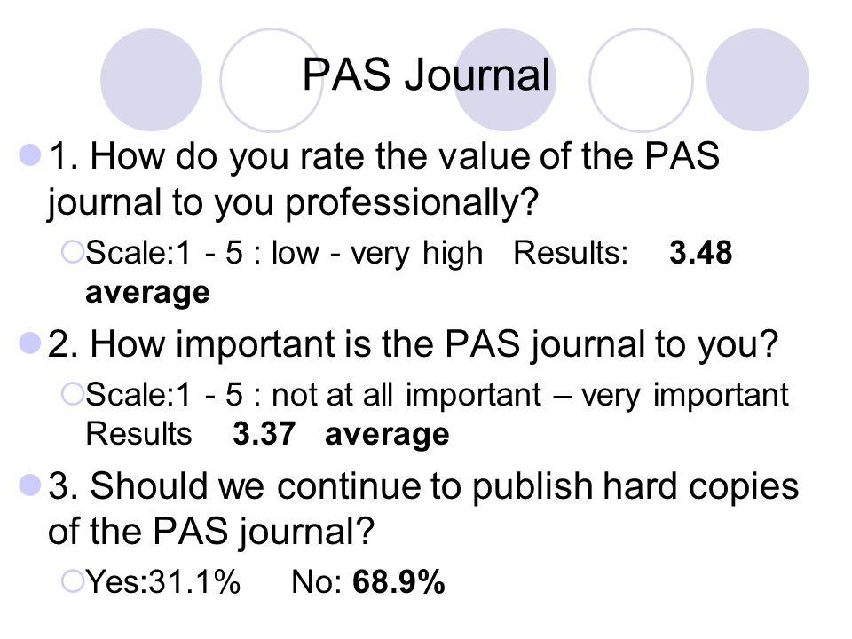 PAS Journal 4.