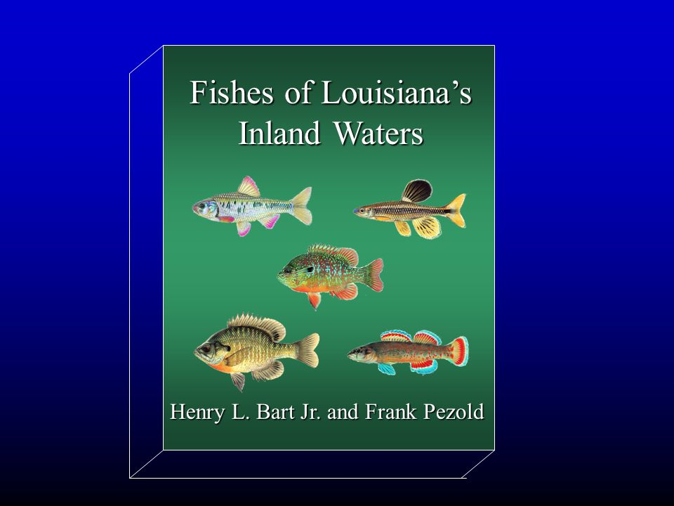 Fishes of Louisianas Inland Waters Henry L. Bart Jr. and Frank Pezold