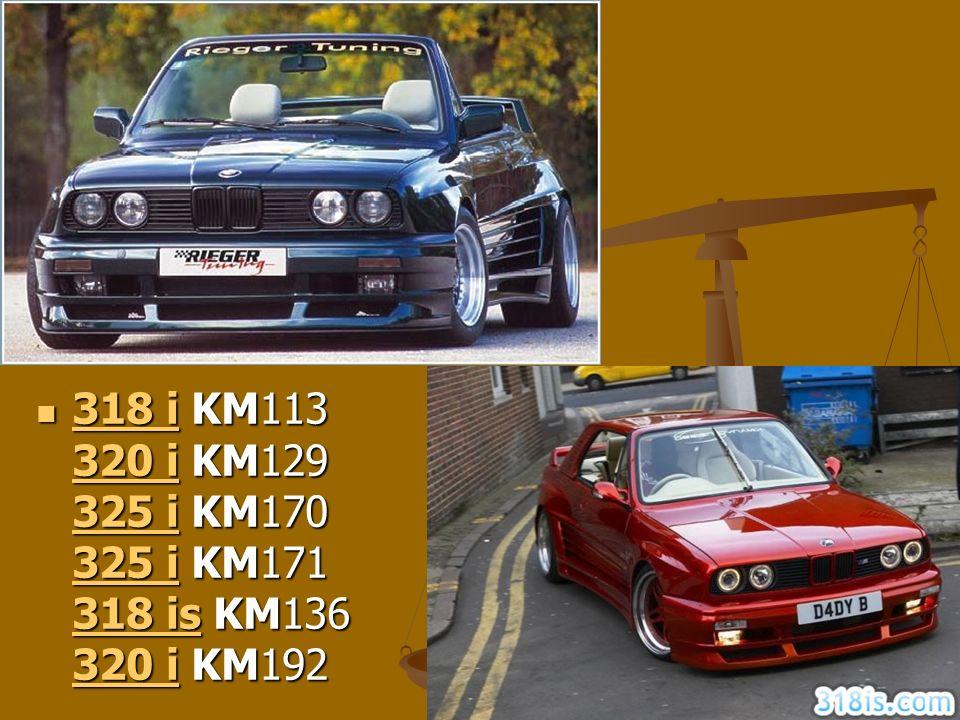 BMW 30 318 i KM113 320 i KM129 325 i KM170 325 i KM171 318 is KM136 320 i KM192 318 i KM113 320 i KM129 325 i KM170 325 i KM171 318 is KM136 320 i KM1