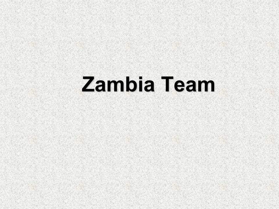 Zambia Team