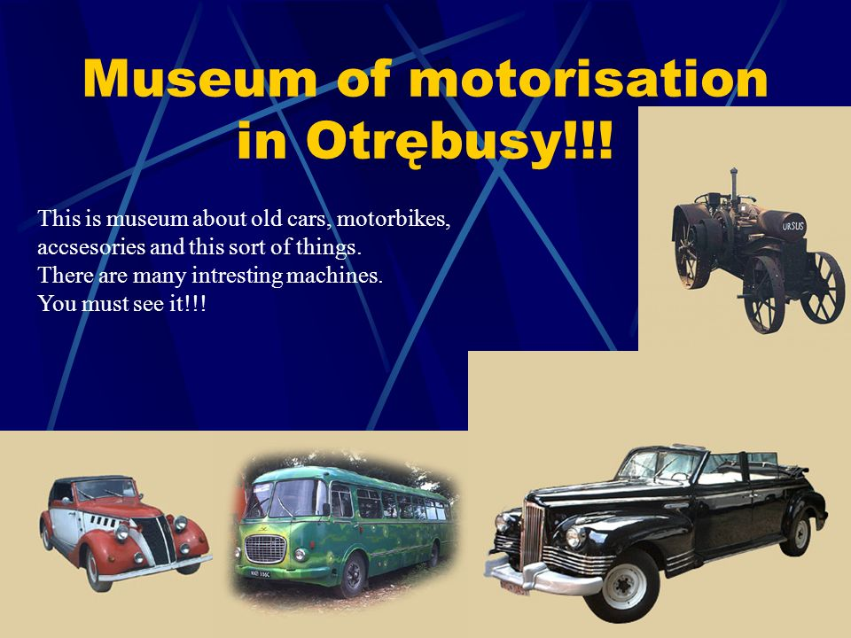 Museum of motorisation in Otrębusy!!.