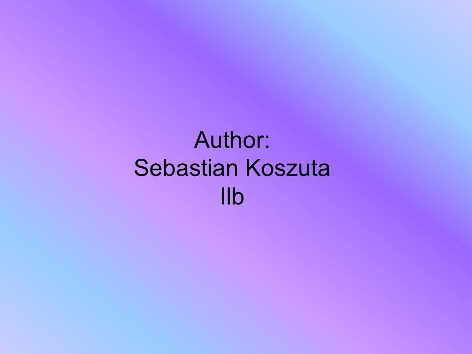 Author: Sebastian Koszuta IIb