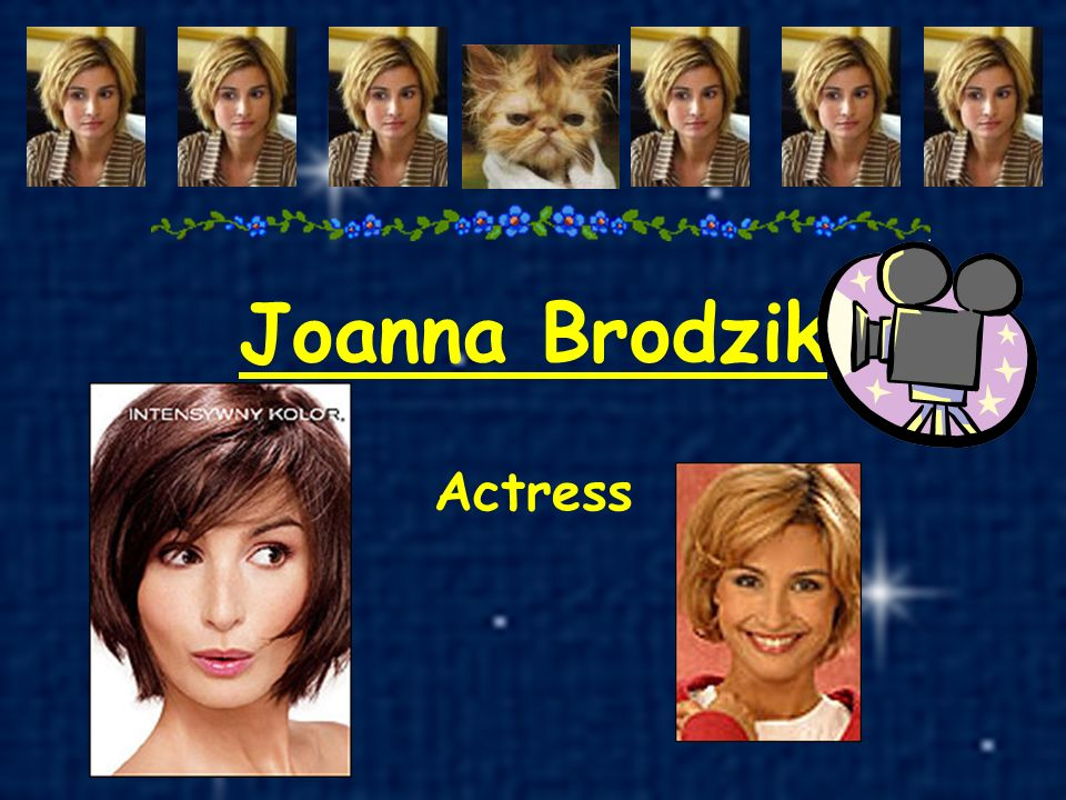 Joanna Brodzik Actress