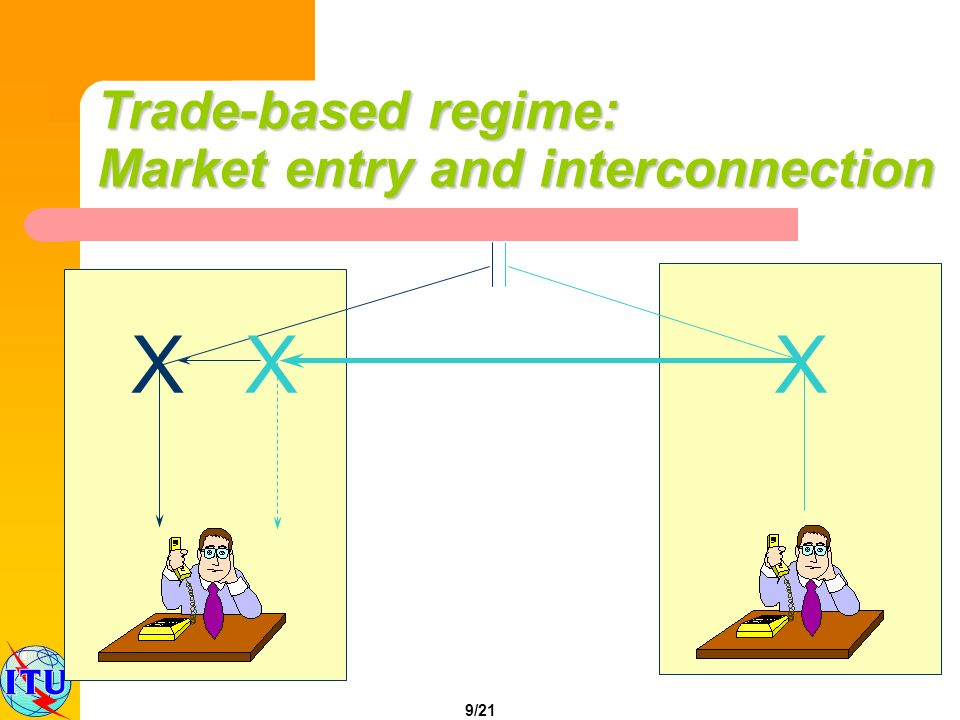 9/21 XXX Trade-based regime: Market entry and interconnection