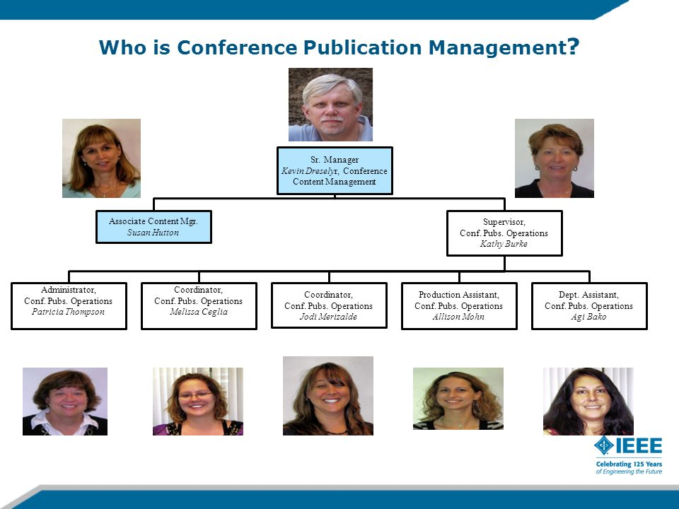 Who is Conference Publication Management ?