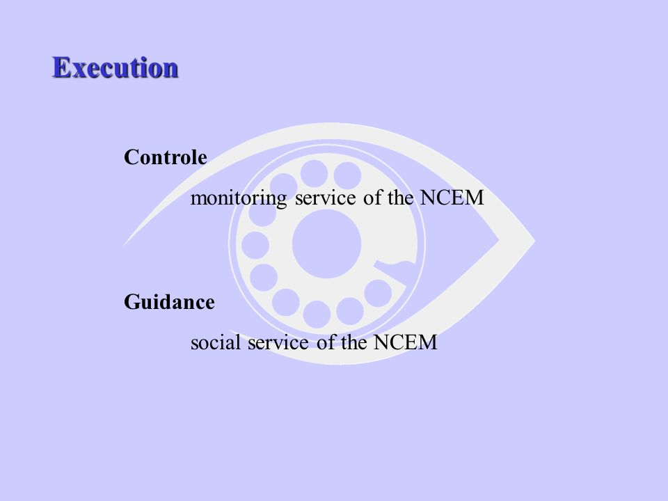 The placing of offenders under EM PRISON MOBILE TEAM NCET SECURIS Role of the private sector is very limited in Belgium !!.