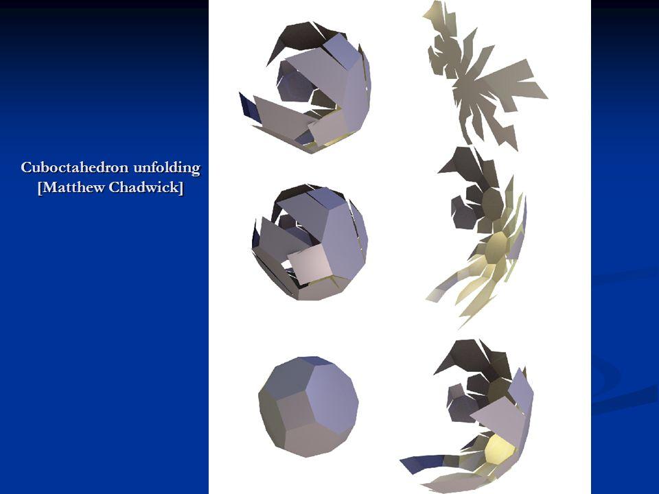 Cuboctahedron unfolding [Matthew Chadwick]