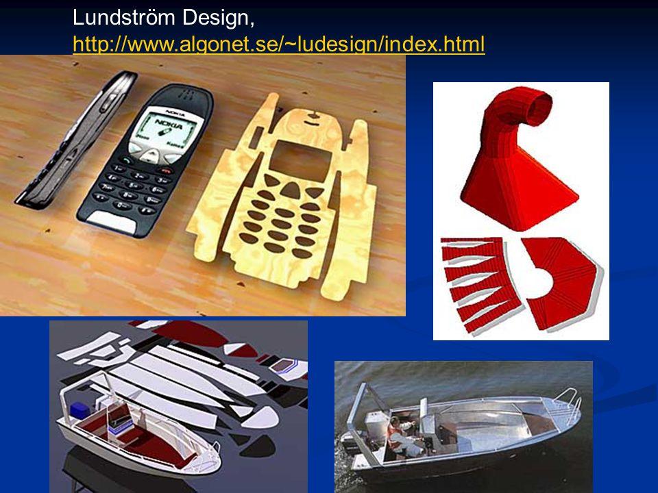 Lundström Design, http://www.algonet.se/~ludesign/index.html http://www.algonet.se/~ludesign/index.html