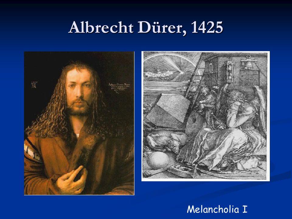 Albrecht Dürer, 1425 Melancholia I