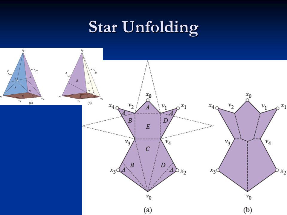 Star Unfolding