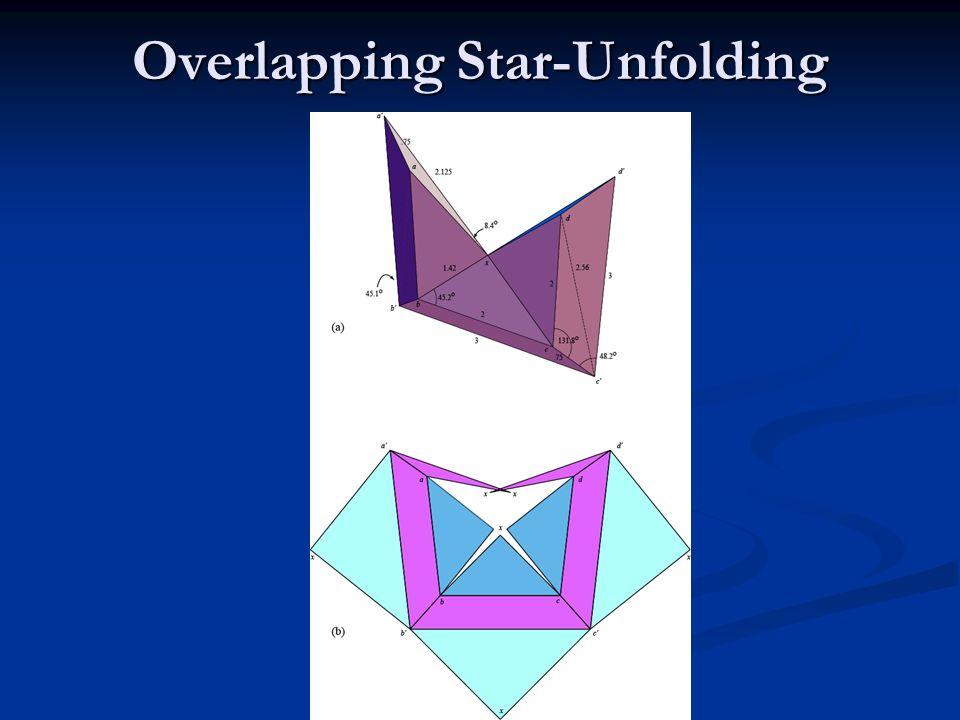Overlapping Star-Unfolding