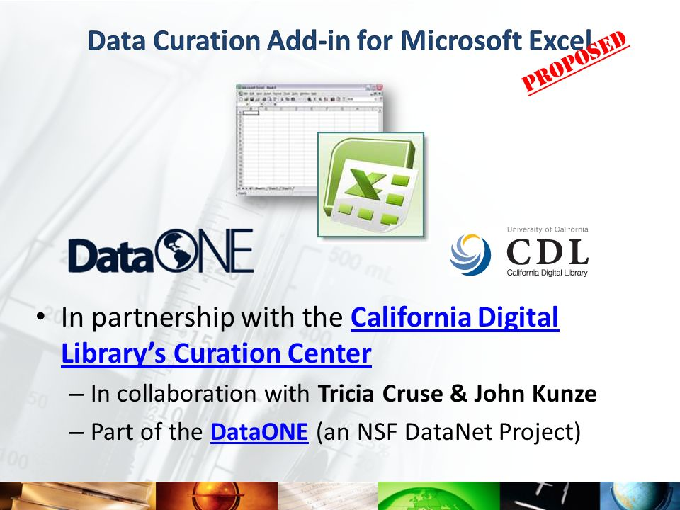 In partnership with the California Digital Librarys Curation CenterCalifornia Digital Librarys Curation Center – In collaboration with Tricia Cruse &