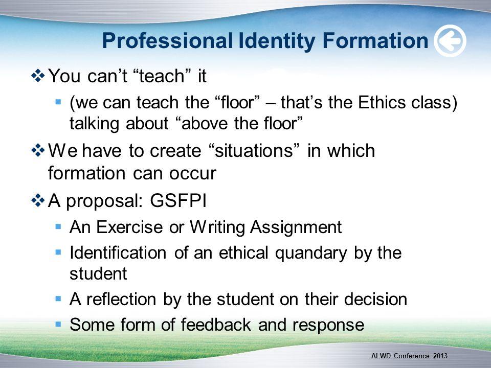 Todays Undergraduates Are Less Professional.