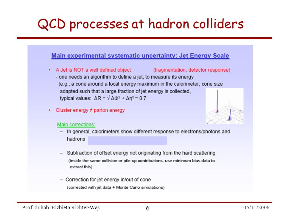 05/11/2006 37 Prof. dr hab. Elżbieta Richter-Wąs W production at LHC