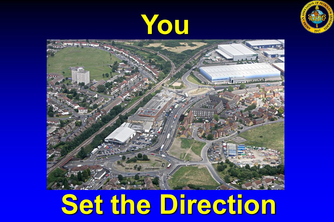 You Set the Direction