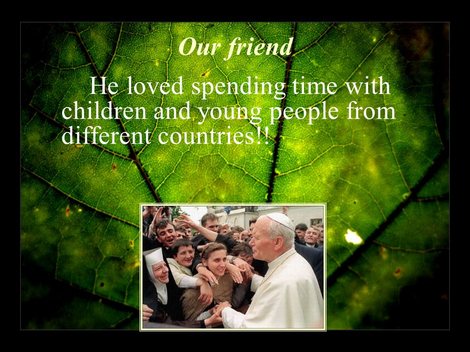 Our friend He loved spending time with children and young people from different countries!!