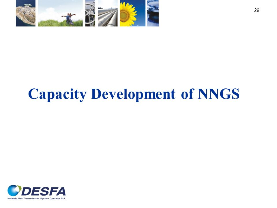 Capacity Development of NNGS 29