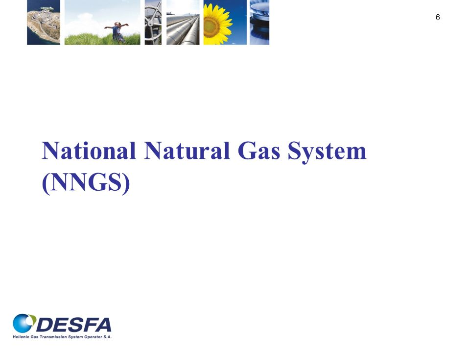 National Natural Gas System (NNGS) 6