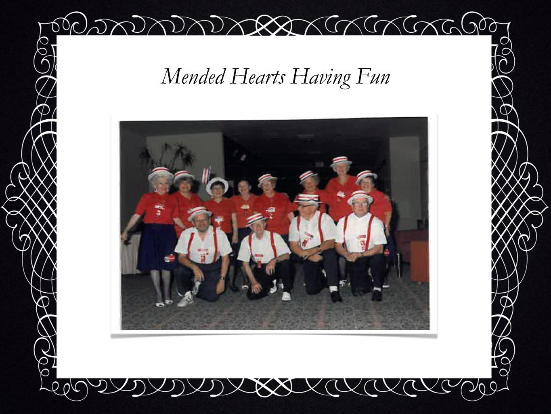 Mended Hearts Having Fun