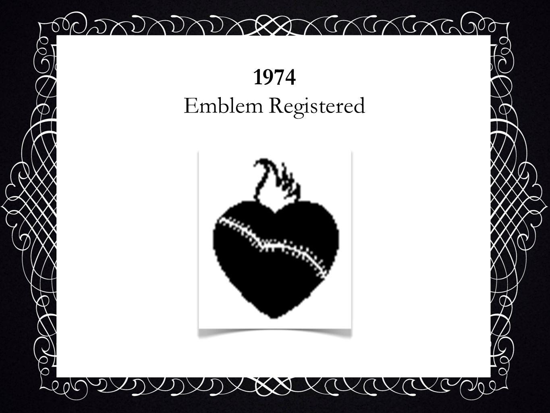 1974 Emblem Registered