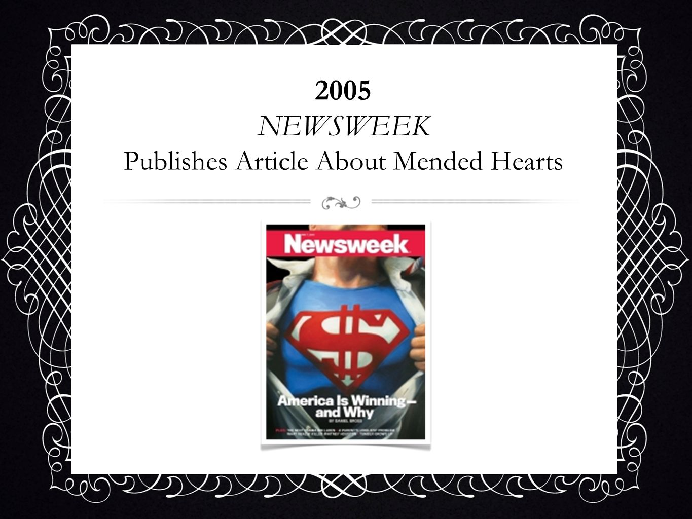 2005 NEWSWEEK Publishes Article About Mended Hearts