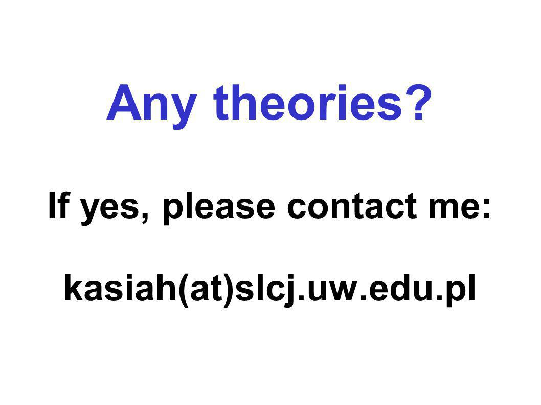 Any theories? If yes, please contact me: kasiah(at)slcj.uw.edu.pl