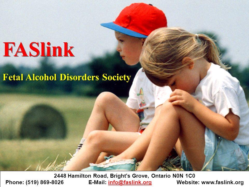 2448 Hamilton Road, Bright's Grove, Ontario N0N 1C0 Phone: (519) 869-8026 E-Mail: info@faslink.org Website: www.faslink.orginfo@faslink.org FASlink Fe