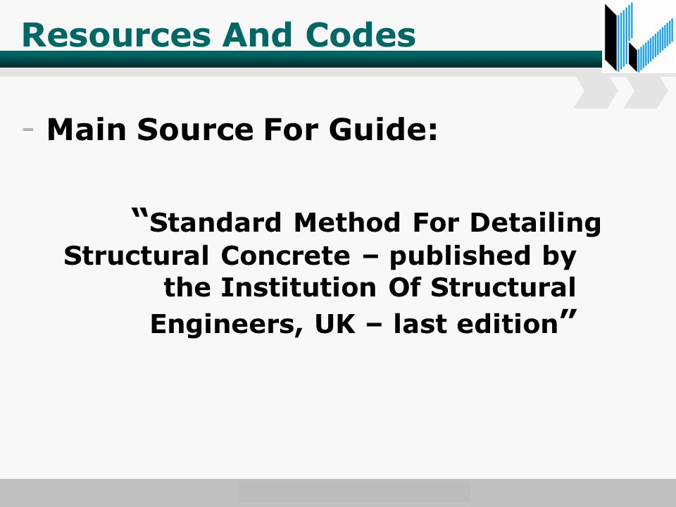 www.wondershare.com Resources And Codes - Main Source For Guide: Standard Method For Detailing Structural Concrete – published by the Institution Of Structural Engineers, UK – last edition