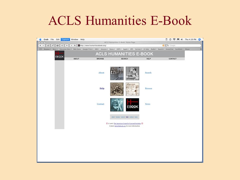 ACLS Humanities E-Book a