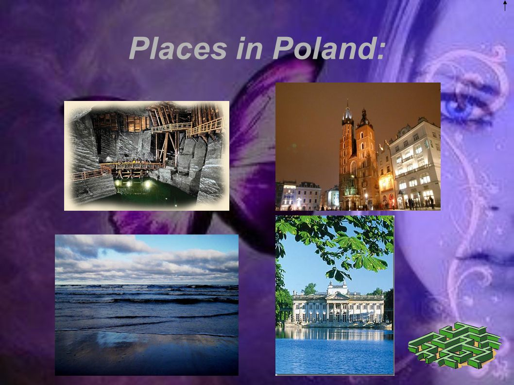 Places in Poland: