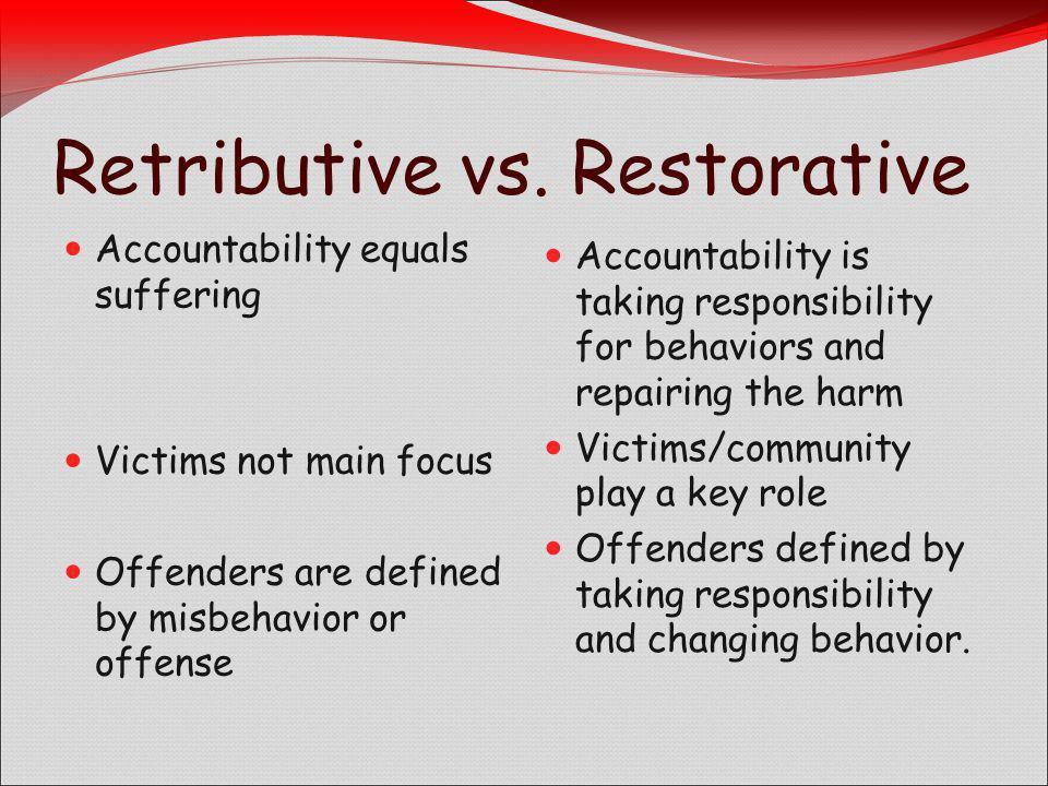 Retributive vs.