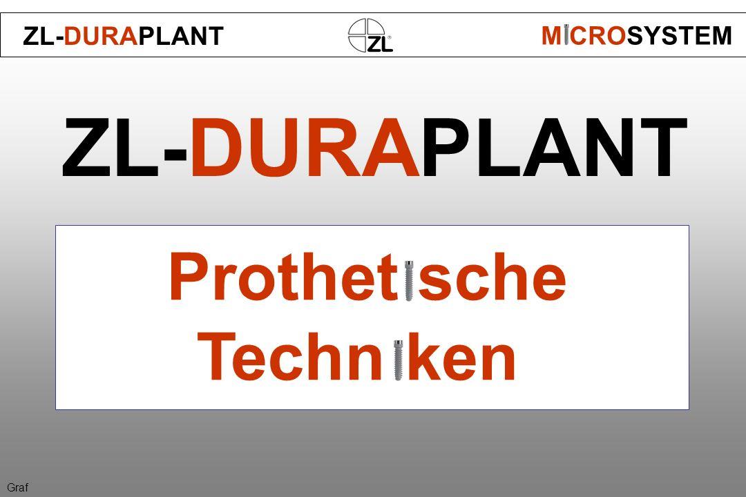 ZL-DURAPLANT Prothet sche Techn ken ZL-DURAPLANT M CROSYSTEM Graf