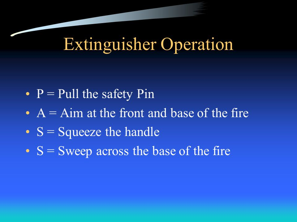 Fire Extinguishers Video