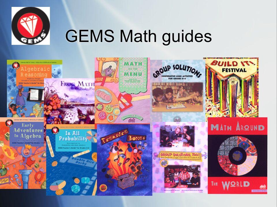 GEMS Math guides
