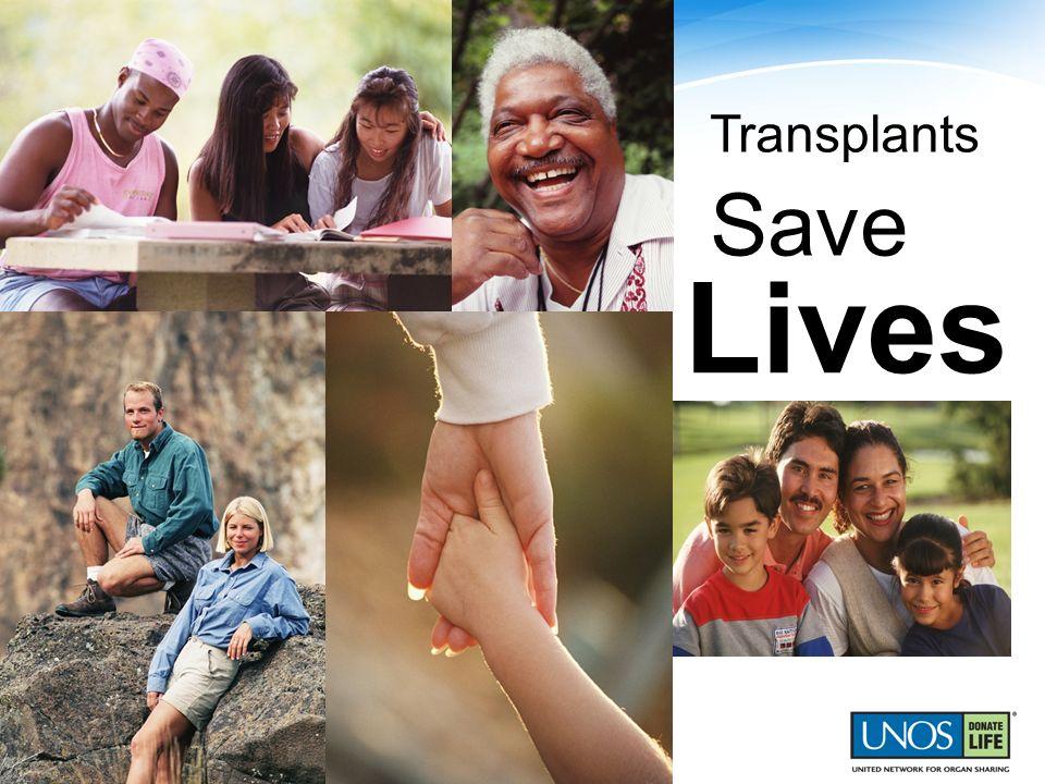 Lives Transplants Save