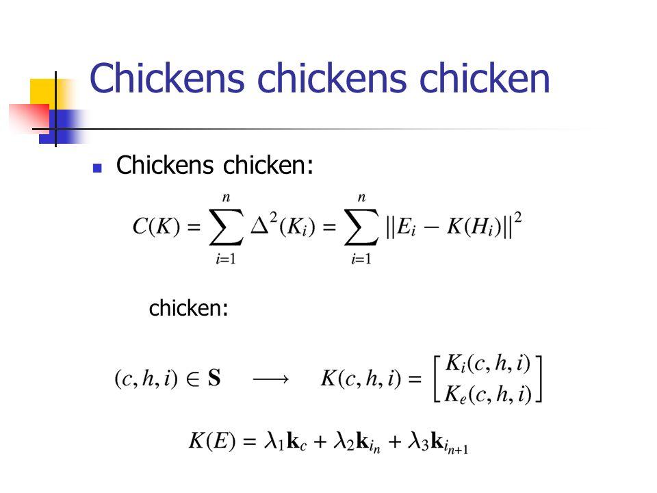 Chickens chickens chicken Chickens chicken: chicken: