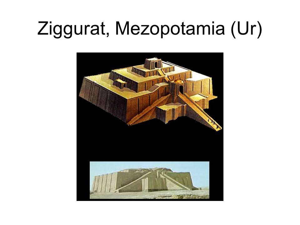 Ziggurat, Mezopotamia (Ur)