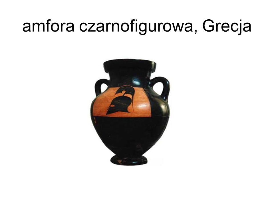 amfora czarnofigurowa, Grecja