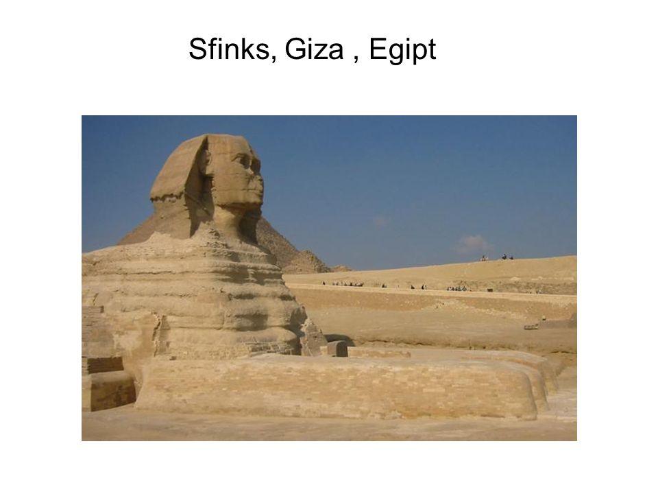 Sfinks, Giza, Egipt