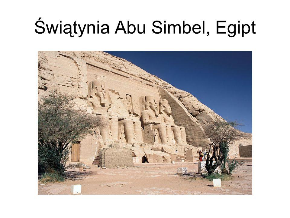 Świątynia Abu Simbel, Egipt