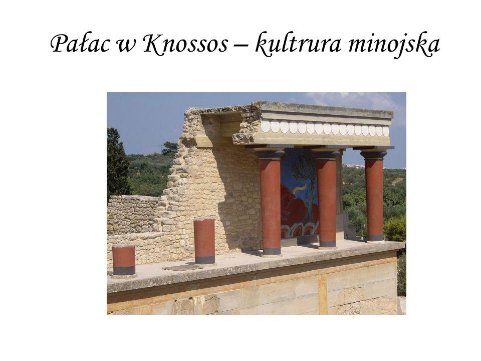 Pałac w Knossos – kultrura minojska