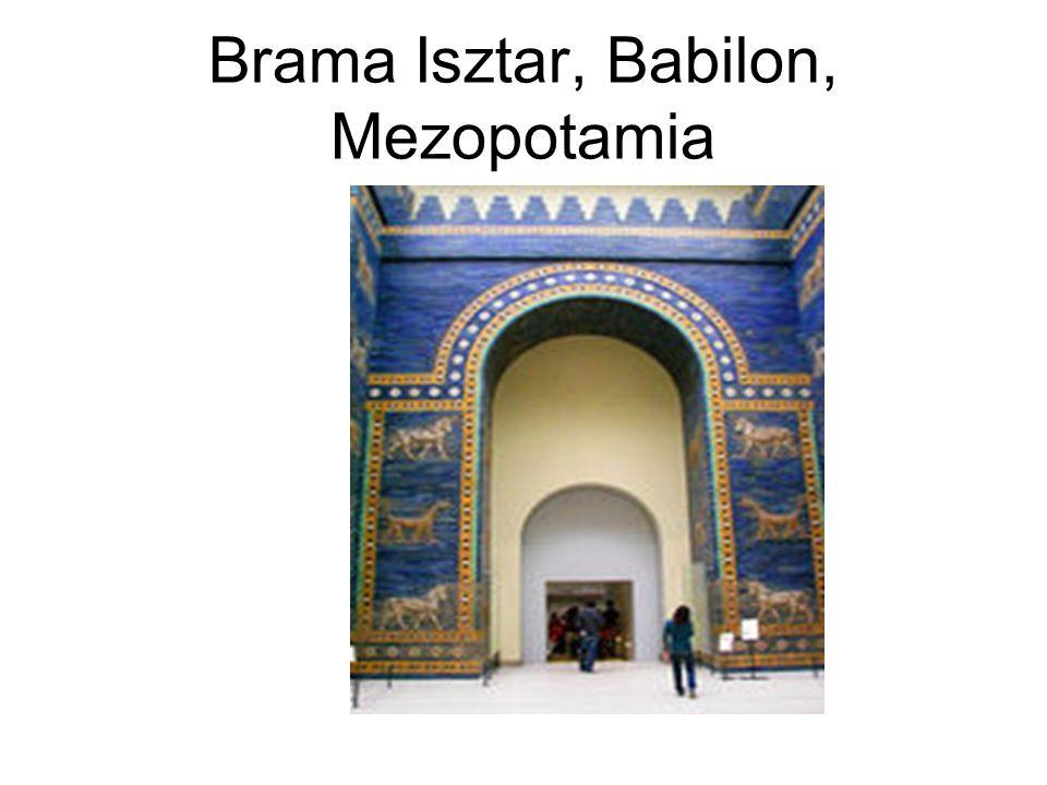 Brama Isztar, Babilon, Mezopotamia