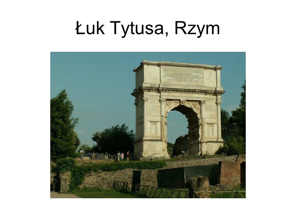 Łuk Tytusa, Rzym