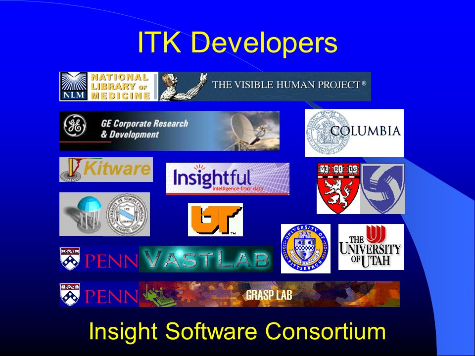 ITK Developers Insight Software Consortium