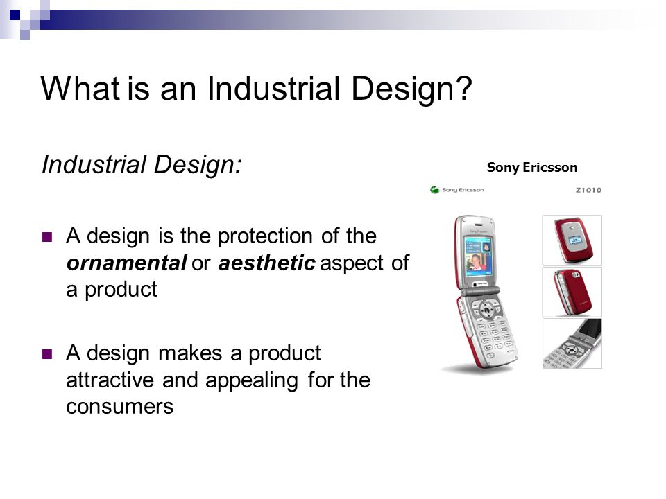 Industrial Designs What can be registered as a design.