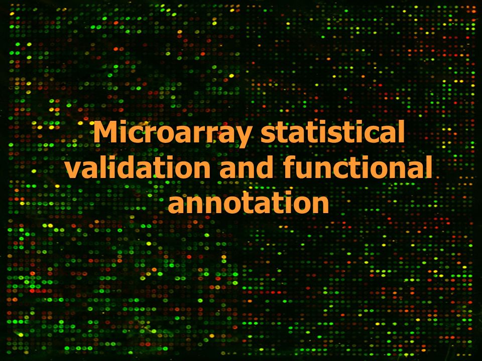 MicroarraysMicroarrays Gene Ontology (GO) is a dynamic controlled vocabulary that can be applied to all organisms even as knowledge of gene and protein roles in cells is accumulating and changing.